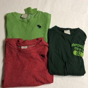 Abercrombie kids long sleeve T-shirt bundle
